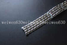 FOR CHOPARD 18mm High quality silver Stainless Steel WATCH BAND+Clasp Strap