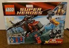 2012 ~ Lego Marvel Super Heroes X-men Guepardo's Chopper Showdown (6866) Completo