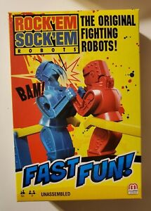Mattel Games ROCK'EM SOCK'EM ROBOTS Classic Toy 2019 - NEW SEALED