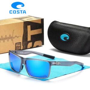 Costa Gray frame polarized TAC 580P lens sports fishing riding sunglasses