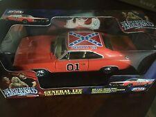 1969 General Lee Dukes of Hazzard 1:18 scale ERTL car NIB NEW 3918MT Confed Flag