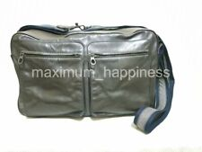 BOTTEGA VENETA MEN'S LEATHER REPORTER MESSENGER BAG - RARE - AUTHENTIC