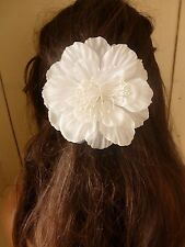 double sided cream flower comb