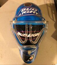 Flyers Fans - Rare Flyers Hockey Mask Neon Light Bud Light - Very Cool