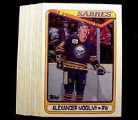 1990-91 Topps Alexander Mogilny (RC) ~20 Card Lot~ Nice Rookie Cards Future HOF?