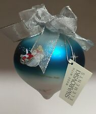 Christmas Ornament w/ Swarovski Elements Hollywood Wishes Signed + Box