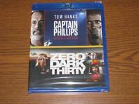 Captain Phillips/Zero Dark Thirty (Blu-ray Disc, 2017, 2-Disc Set)