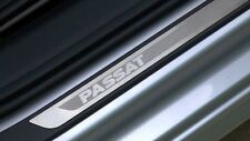 Door Sill Plate-Protection - Brushed Stainless Steel VOLKSWAGEN OEM 3AE071303