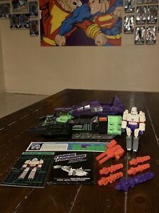 Transformers G1 Action Masters 1990 Megatron W/ Neutro-Fusion Tank 100% Complete