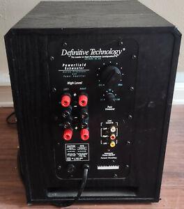 "Definitive Technology Powerfield 10"" Powered Subwoofer"