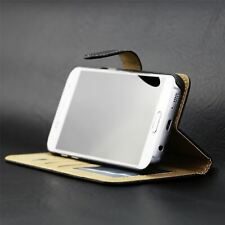 Black Leather Wallet Cover Flip Case For Samsung Galaxy A3 2016 (A310F)