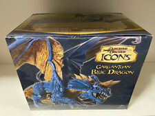 Dungeons and Dragons Icons Gargantuan Blue Dragon 2007 New