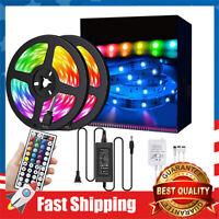 32.8ft LED Strip Lights RGB 300LEDs Waterproof Light Strip with infrared 44 Keys
