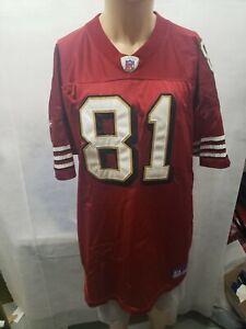 Authentic Terrell Owens San Francisco 49ers Reebok Jersey 56 NFL