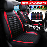 Universal PU Leather Car SUV Front Seat Cushion Cover Non-slip Protector Mat