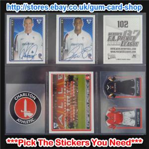 Merlin's Premier League 2006-2007 (100 to 199) *Please Select Stickers*