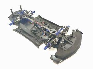 Traxxas XO-1 1/7 Scale 4wd RC Supercar Roller Slider GTR Shocks Complete
