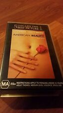 AMERICAN BEAUTY - KEVIN SPACEY,  ANNETTE BENING -  VHS VIDEO TAPE