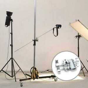 Universal Grip Head Clamp for Heavy Duty Flash C Light Stand Arm Boom Panel