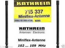 KATHREIN MINIFLEX ANTENNE TELEPORT FUNK FLUGFUNK WENDEL BETRIEBSFUNK AMATEURFUNK