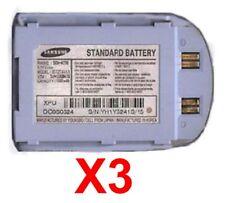 Lot Of 3 Oem Bst274Aka Battery For Samsung Sch-N330 Light Blue