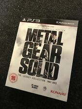Rare PLAYSTATION 3 GAME Metal Gear Solid The Legacy Collection 1987-2012 PS3