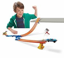Hot Wheels Drop Down Challenge Track Set Ages 4+ New Toy Racing Car Boys Girls