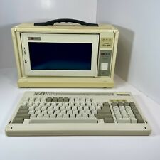 Walters KS700 Portable LCD 286 PC Computer with Manuals, Software & Carry Case