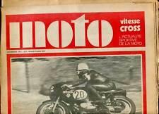 HEBDOMADAIRE MOTO VITESSE CROSS N°4. 1970.
