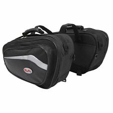 RS Moto Motorcycle Motorbike Sports Storage Luggage Expandable Panniers New