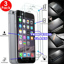 """3x Genuine TEMPERED GLASS Invisible Screen Protector Shield For iPhone 6s 6 4.7"""""""