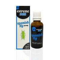 Spanische Fliege - 30 ml Liebestropfen Potenzmittel für Männer Nahrungsergänzung