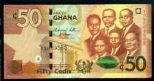 GHANA  50  CEDIS  2012  Prefix XD  P 42a  Uncirculated Banknotes
