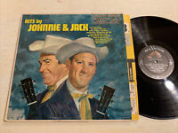 Hits By Johnnie & Jack LP RCA Mono DG VG+!!!!