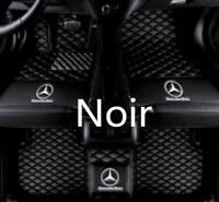tapis de sol de voiture pour Mercedes-Benz Classe A, C, E, S