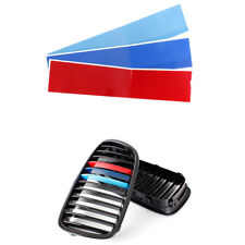GRILLE KIDNEY M COLOR STRIPE DECAL VINYL STICKER FIT BMW M3 E39 E90 X1 X3 X5 X6