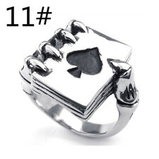 01fc4d94a4 Punk Men's Jewelry Spades Skull Claw Rings ...