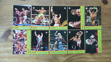2014 Topps WWE Road To Wrestlemania COMPLETE SET of ULTIMATE WARRIOR Cards 1-10