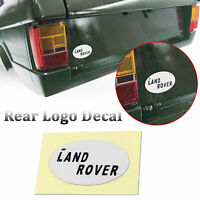 Rear Logo Decal Stickers Land Rover Badge For 1/10 RC Range Rover Classic Body