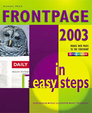 Frontpage 2003 in Easy Steps, Good Condition Book, Price, Michael, ISBN 97818407