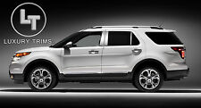 Ford Explorer Stainless Steel Chrome Pillar Posts by Luxury Trims 2011-2019 6pcs