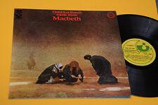 THIRD EAR BAND LP MACBETH TOP PROG 1°ST ORIG ITALY 1972 EX ! AUDIOFILI