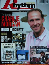 RHYTHM DRUM MAGAZINE JUNE 1993 - POISON/CHARLIE MORGAN