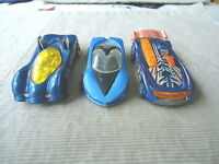 "Vintage Set Of 3 Blue Colored Hot Wheels "" AWESOME COLLECTABLE SET """
