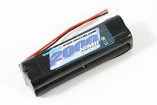 Voltz 9.6V 2000maH Square Transmitter Battery fits JR, Spektrum, Etronix, Tamco