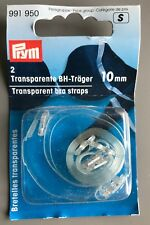 Prym 2 Transparent Bra Straps - 10mm (991950)