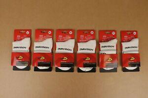 6 Pack Northwave White w/ Grey Stripe Cycling Socks Size 34-36 / 4-6 Women's US