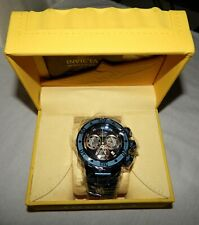 Invicta Reserve Subaqua Sea Dragon Dark Blue Stainless Steel Watch NEW 28628