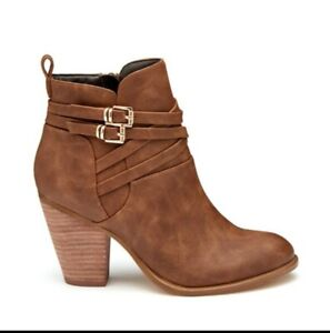 NOVO Women`s Kessy Boots,Colour Tan Size 5  New With Box RRP$99.95