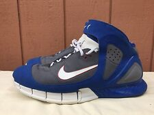 EUC Nike Air Zoom HUARACHE 2K5 KOBE BRYANT ALL-STAR COOL GREY RED BLUE WHITE 13